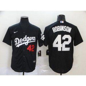 Los Angeles Dodgers Jackie Robinson Black Jersey